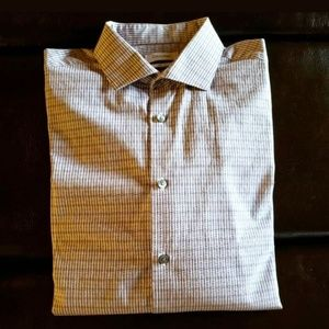 Calvin Klein Button up Shirt Slim Fit SZ L
